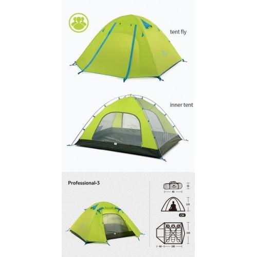 Палатка Naturehike 3ех местная от 300 сом / сутки