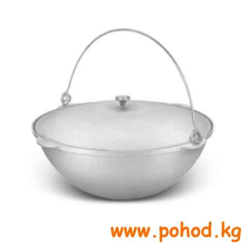 Казан толстостенный костровой ( 9 литров)